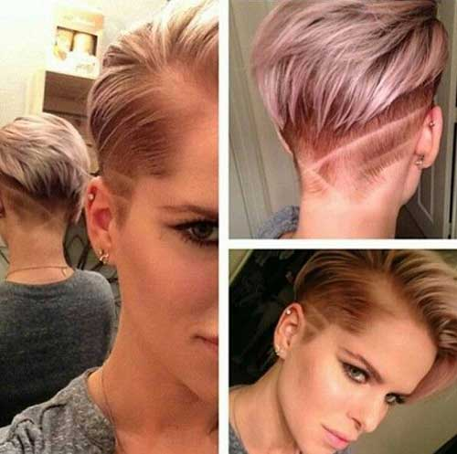Trendy Hairstyles for Short Hair-27