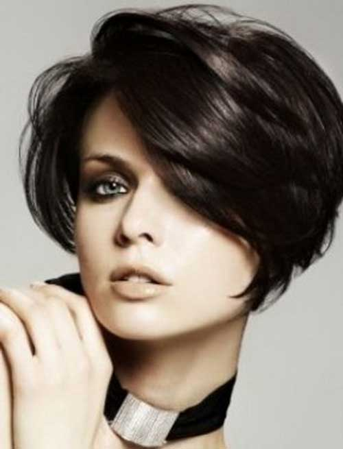 Trendy Hairstyles for Short Hair-29