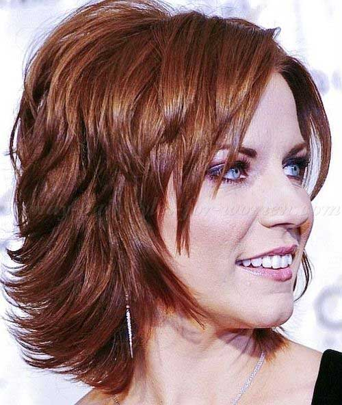 Layered Haircuts for Short Hair-6