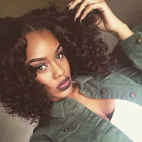10 Nice Short Curly Weave Styles Short Hairstyles 2016 - 2017 Most ...