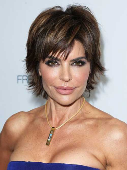 15 Short Hair Cuts For Women Over 40