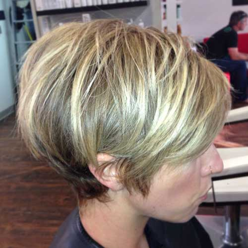 Super Popular Short Stacked Haircuts You Will Love Short Hairstyles Short Hairstyles Gunalazisus