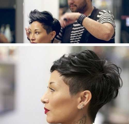 Trendy Hairstyles for Short Hair-6