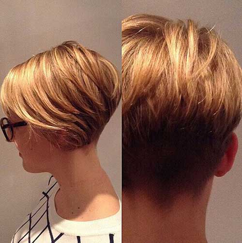 Hairstyles for Short Length Hair-7