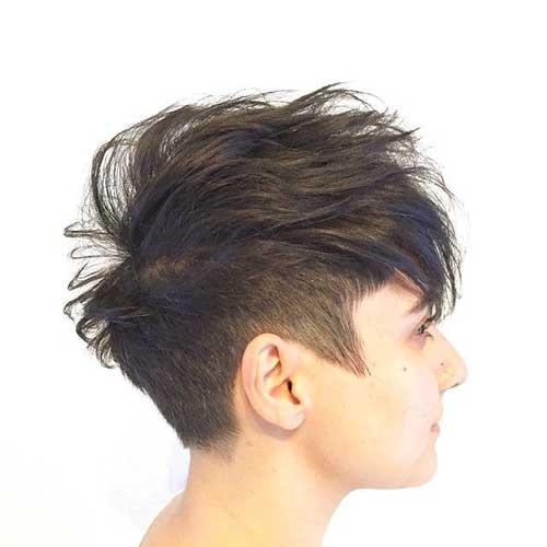 Mohawk Pixie Cut-7
