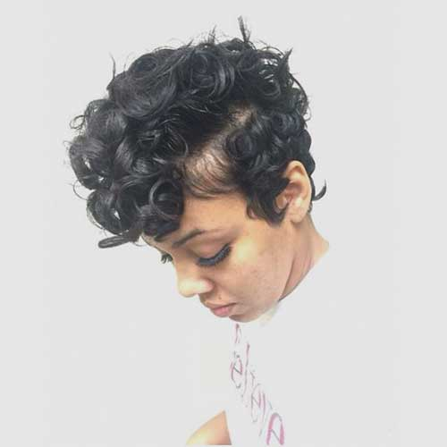 Short Curly Weave Styles-7