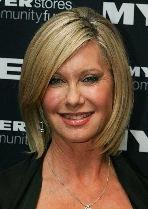 Short Hair Cuts For Women Over 40-7
