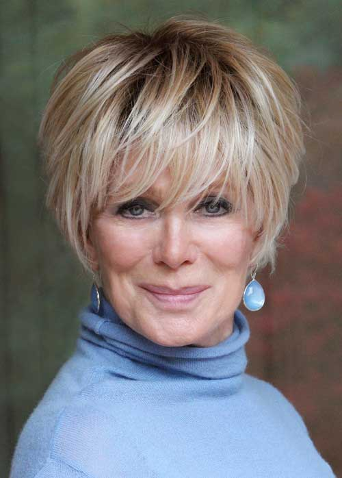 Very Stylish Short Haircuts for Women Over 50