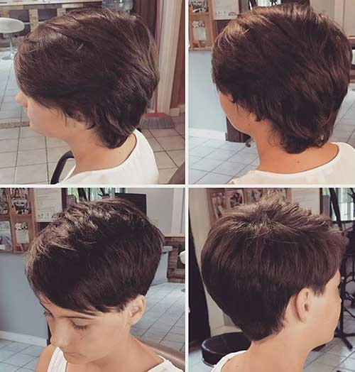 Trendy Hairstyles for Short Hair-7