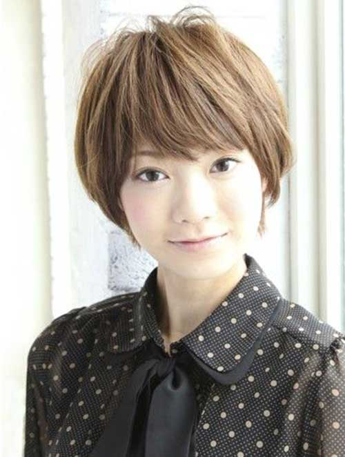 Asian Female Short Hairstyle Best Short Hair Styles