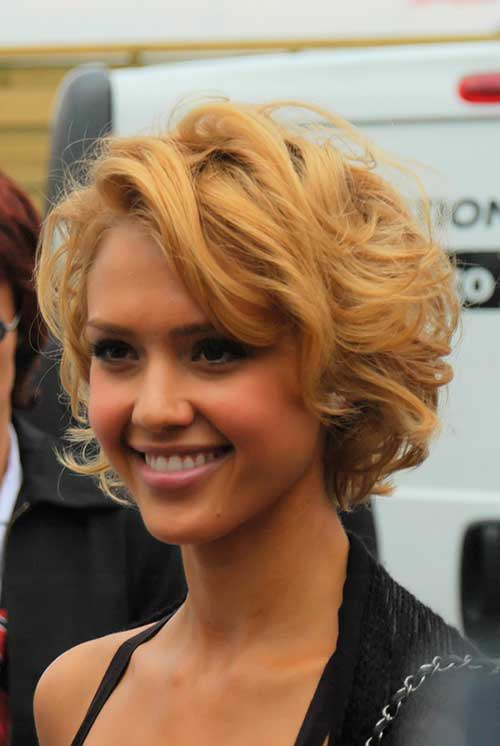 Cute Curly Hairstyles For Short Hair-9