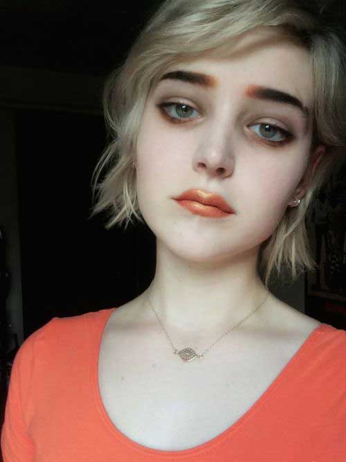 Short Hair for Round Faces-9