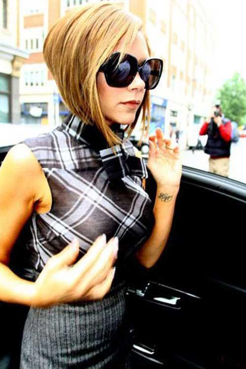 15 Victoria Beckham Short Blonde Hair