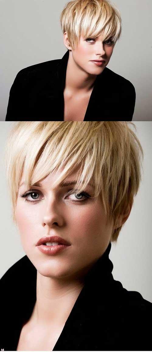 Blonde Short Haircuts