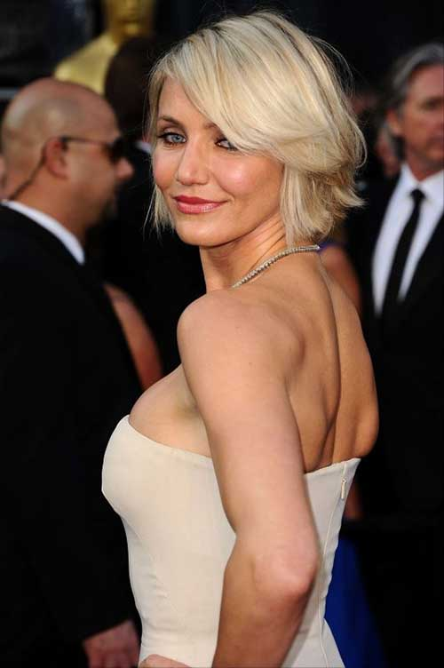 Cameron Diaz Bob Haircut