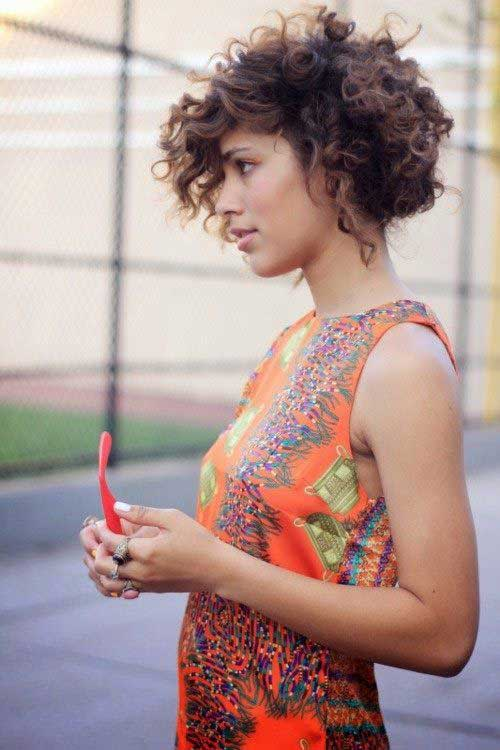 Magnificent 15 Cute Curly Hairstyles For Short Hair Short Hairstyles 2016 Short Hairstyles Gunalazisus