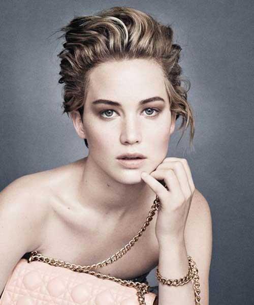 Jennifer Lawrence Short Hair Styles
