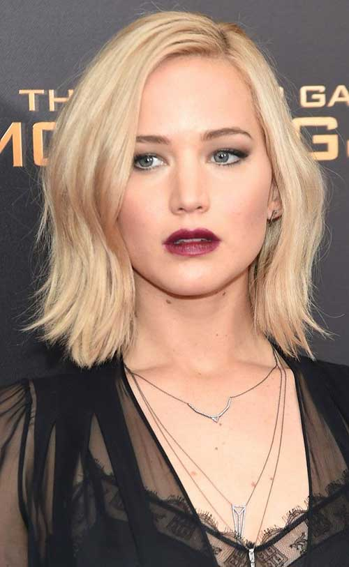 Jennifer Lawrence with Short Hair