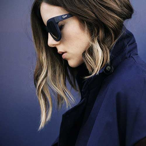 Ombre Short Hair Color