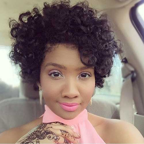 Miraculous 10 Nice Short Curly Weave Styles Short Hairstyles 2016 2017 Short Hairstyles Gunalazisus