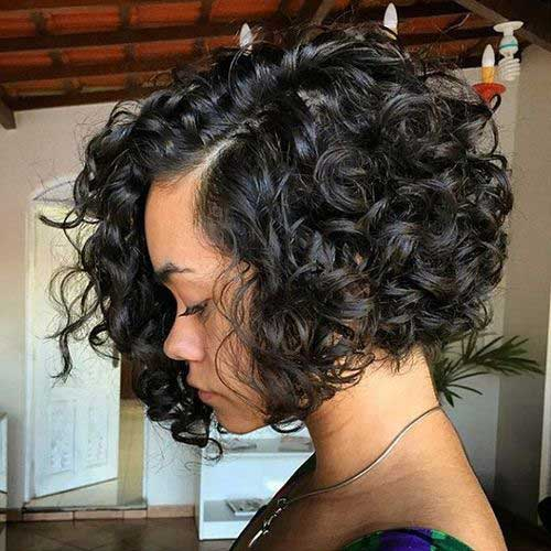 Magnificent 10 Nice Short Curly Weave Styles Short Hairstyles 2016 2017 Short Hairstyles Gunalazisus