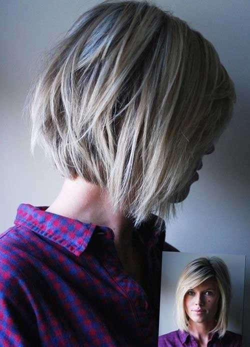 Short Hair in Layers