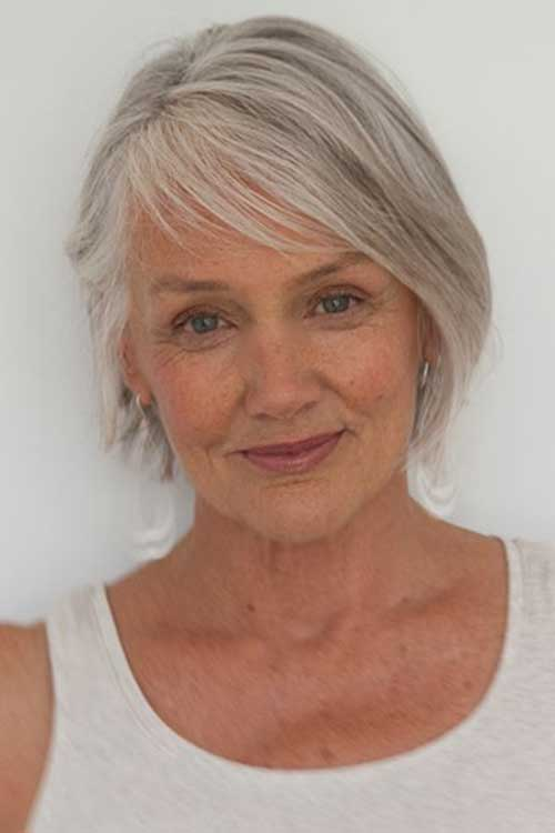 Short Hair Older Women