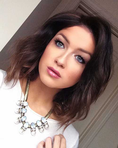 Short Hair With Ombre Color