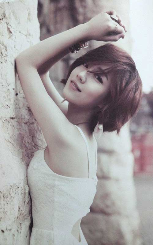 20 Short Haircuts For Asian Women