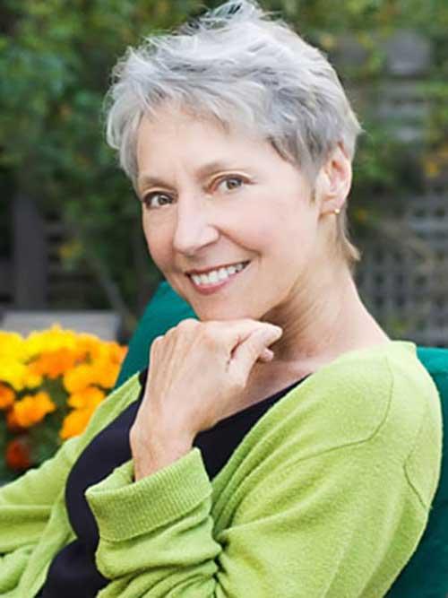 Short Haircuts Older Women