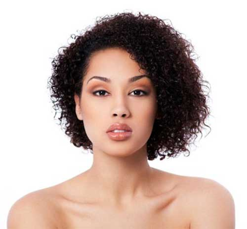 15 Short Curly Hair For Round Faces