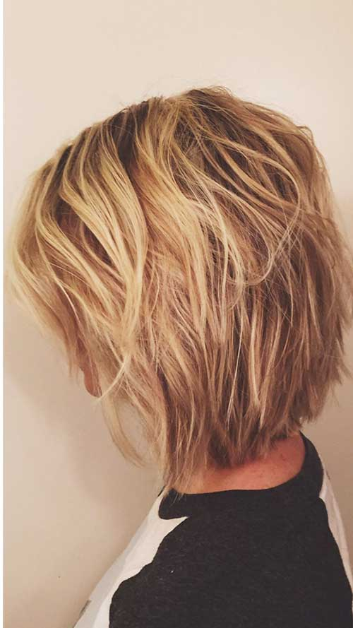 Short Layered Hair Cuts