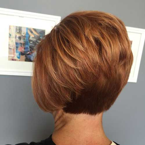 Short Stacked Haircut
