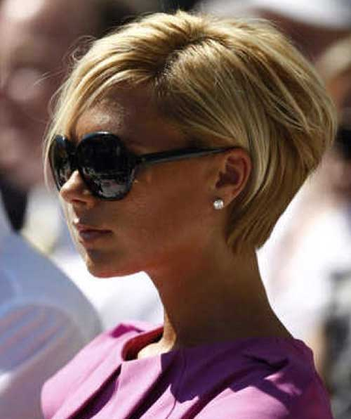 Victoria Beckham Changes of Look and Is The Short Hair!