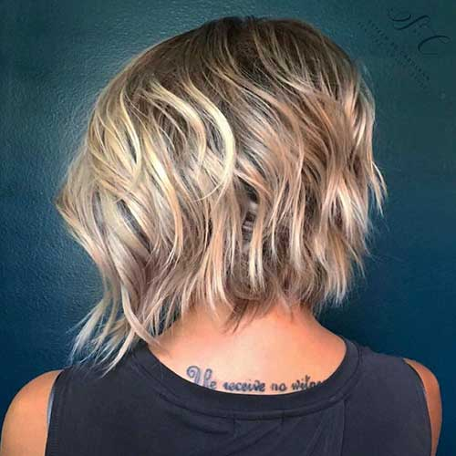 Short Layered Haircut