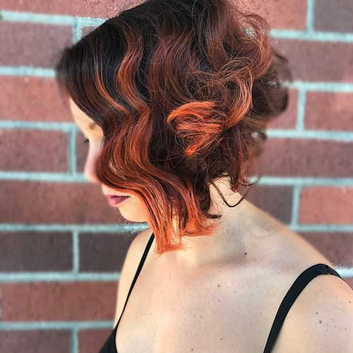 Short Curly Hairstyle for Women