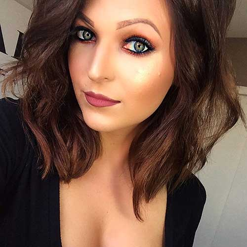 Short Hairstyles For Round Hairstyles - 10