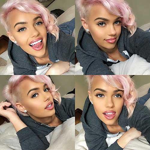 Short Pink Hair - 10