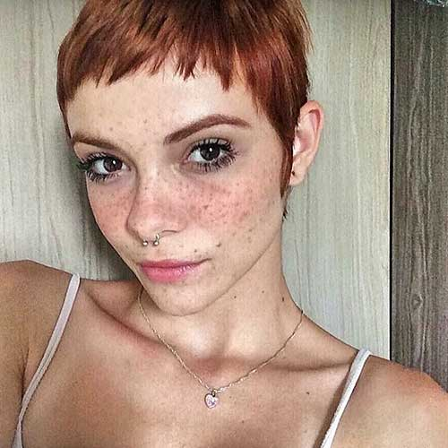 Short Red Hair - 10