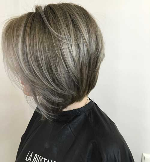 Short And Modern Hairstyles For Stylish Ladies