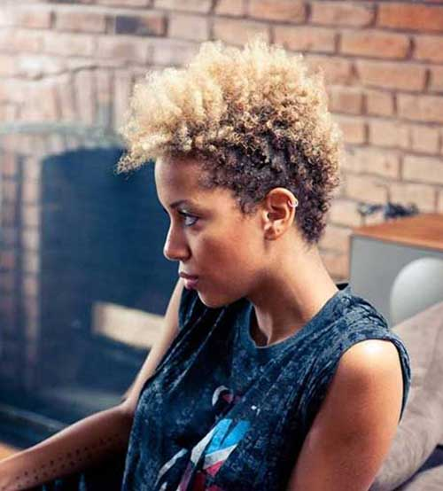 Short Curly Afro Hairstyles-10