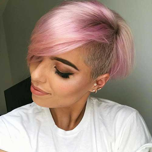 Pink Short Hair - 11