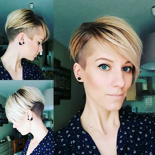 Short Asymmetrical Haircut - 11