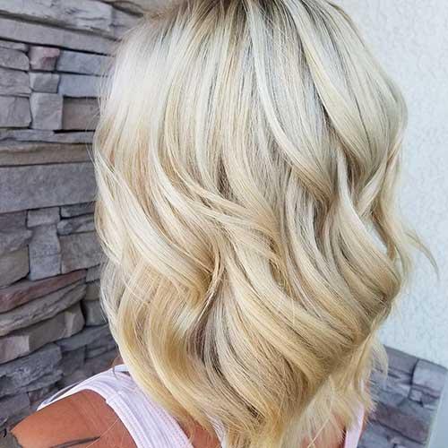 Short Blonde Hairstyle - 11
