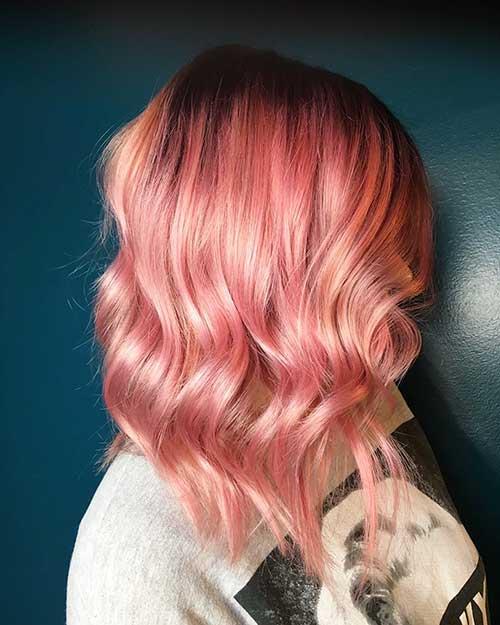 Short Pink Hair - 11
