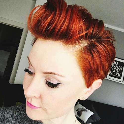 Short Red Hair - 11