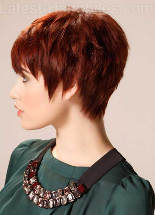 20 Best Red Pixie Hair