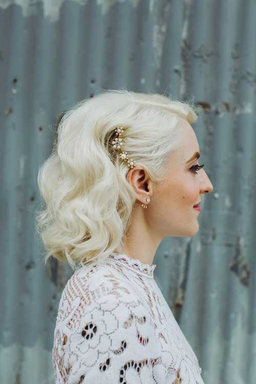 Short Hair for Wedding-11