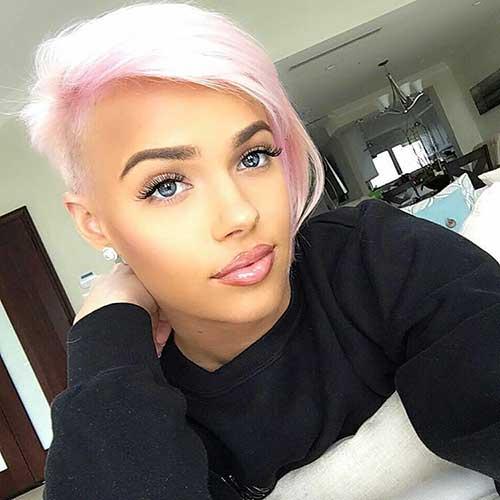 Pink Short Hair - 12