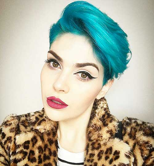 Short Blue Hair - 12